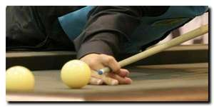 position de la main - attaque de billard demi-basse