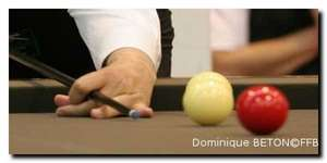 position de la main - attaque de billard basse