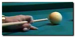 position de la main - attaque de billard au centre